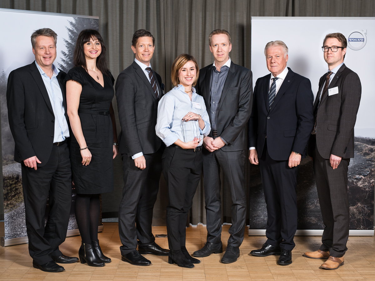 Volvo Cars Quality Excellence Award!