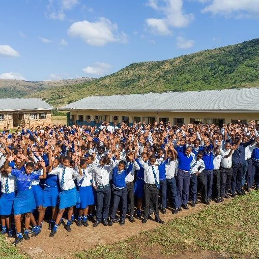A school in Africa